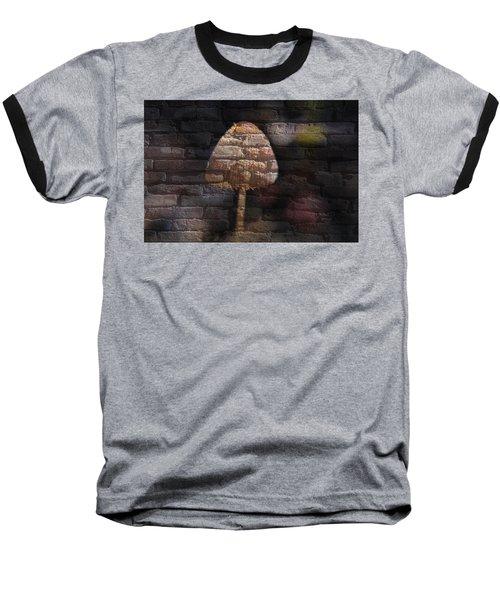 Brick Mushroom Baseball T-Shirt