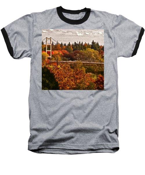 Baseball T-Shirt featuring the photograph Bridge by Bill Owen