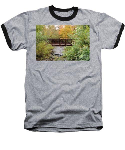 Bridge Over River Baseball T-Shirt