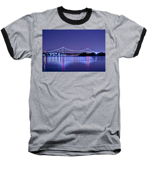 Tri-borough Bridge In Nyc Baseball T-Shirt