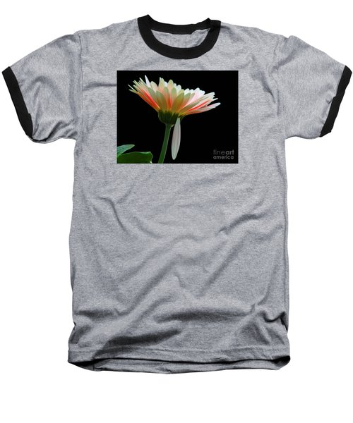 Baseball T-Shirt featuring the photograph Broken Daisy by Cindy Manero