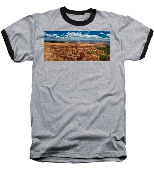 Bryce Canyon Baseball T-Shirt by Larry Carr