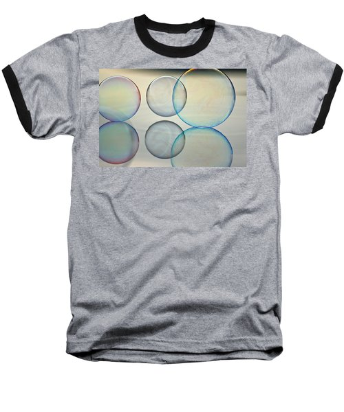 Bubbles On The Water Baseball T-Shirt