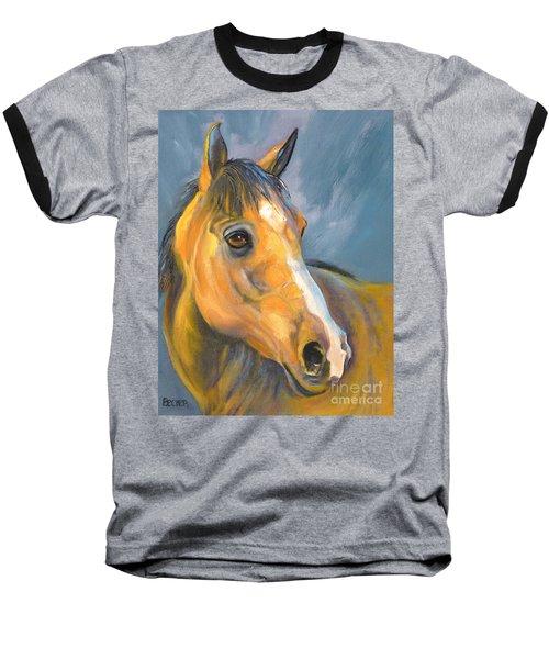 Buckskin Sport Horse Baseball T-Shirt
