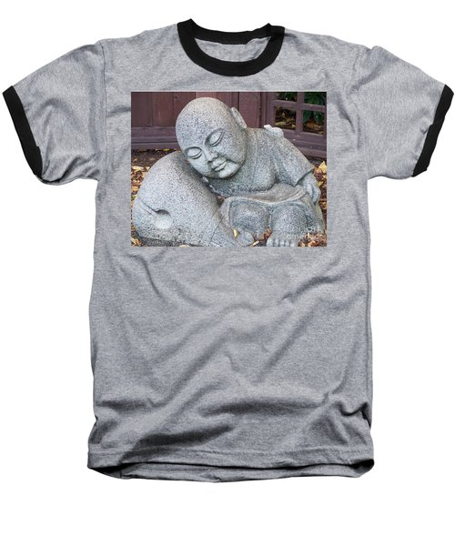 Baseball T-Shirt featuring the photograph Buddha by Chalet Roome-Rigdon