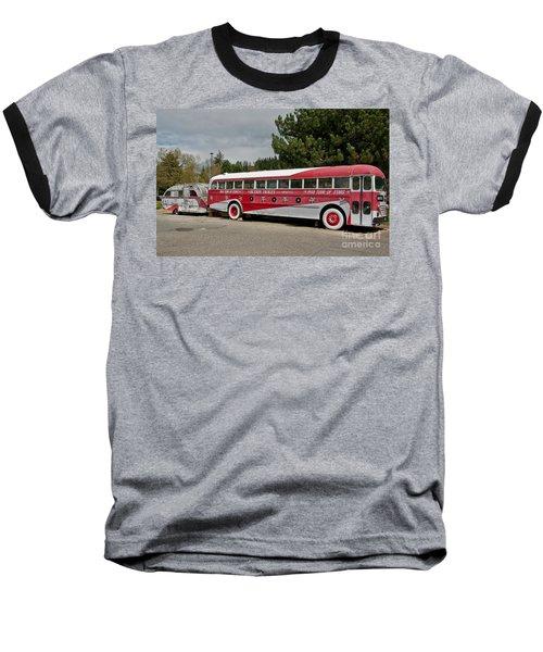 Buddy Holly 1958 Tour Of Stars Bus Art Prints Baseball T-Shirt by Valerie Garner