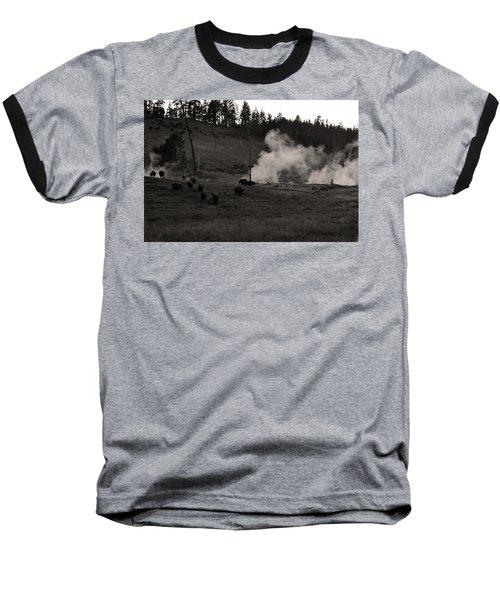 Buffalo Apocalypse  Baseball T-Shirt