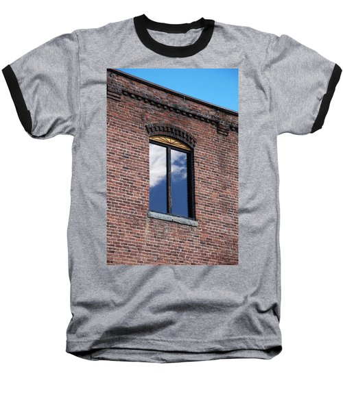 Baseball T-Shirt featuring the photograph Building Series - Sky Views by Kathleen Grace