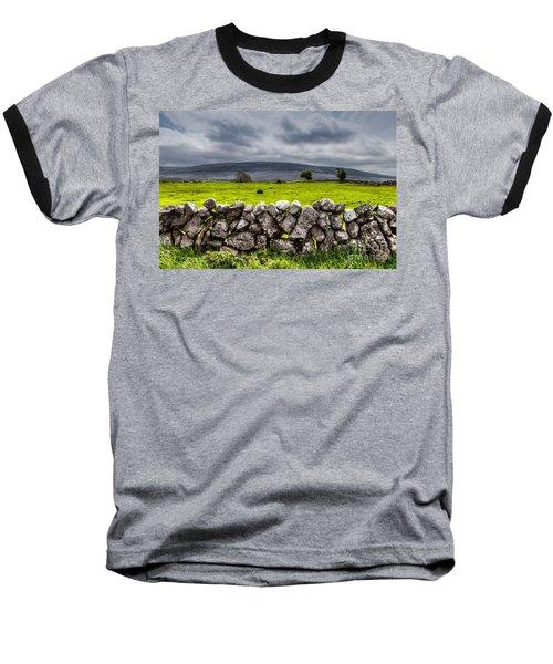 Baseball T-Shirt featuring the photograph Burren Stones by Juergen Klust