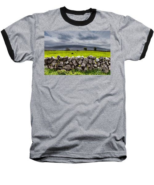 Burren Stones Baseball T-Shirt