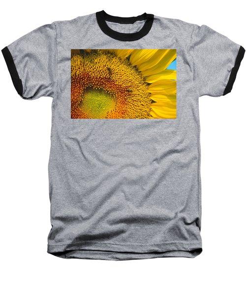 Busy Sunflower Baseball T-Shirt