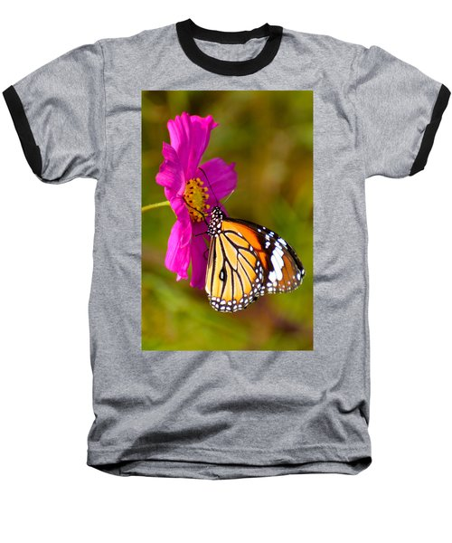 Butterfly II Baseball T-Shirt