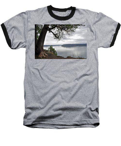 Baseball T-Shirt featuring the photograph By The Still Waters by Tikvah's Hope