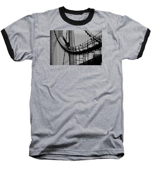 Cables Baseball T-Shirt by John Schneider