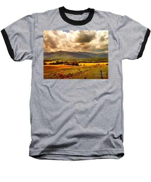 Cades Cove Baseball T-Shirt by Janice Spivey