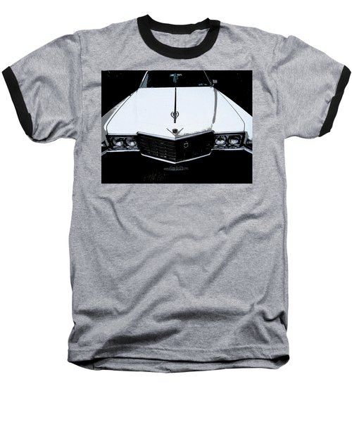Baseball T-Shirt featuring the photograph Cadillac Pimp Mobile by Kym Backland