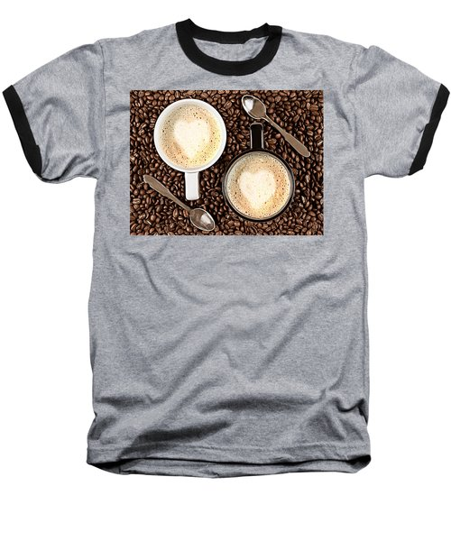Baseball T-Shirt featuring the photograph Caffe Latte For Two by Gert Lavsen