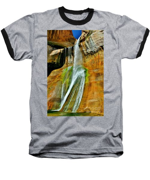 Calf Creek Falls II Baseball T-Shirt