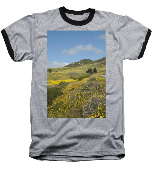 California Hillside View I Baseball T-Shirt