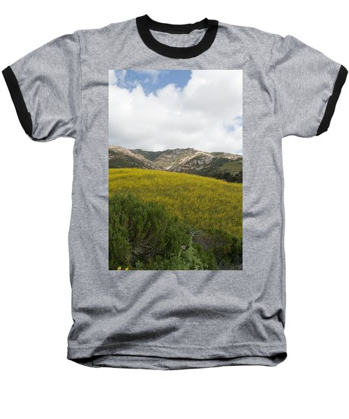 California Hillside View V Baseball T-Shirt