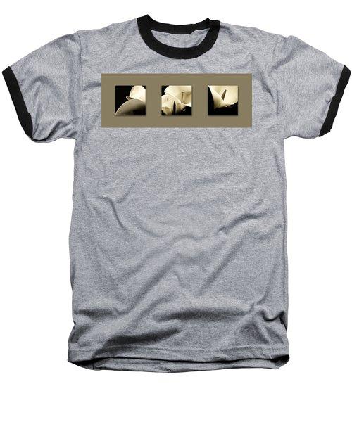 Calla Lilies Art Baseball T-Shirt