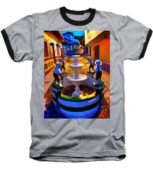 Calle Del Recuerdo Baseball T-Shirt