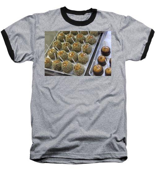 Baseball T-Shirt featuring the photograph Candy Apples by Bill Owen