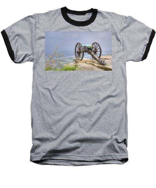 Cannon 2 Baseball T-Shirt by David Troxel