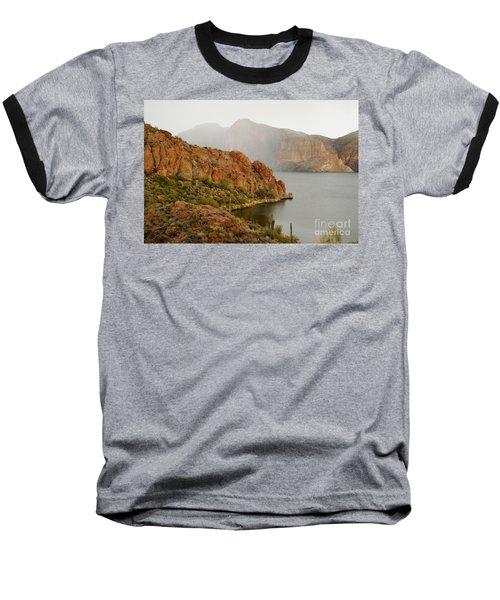Baseball T-Shirt featuring the photograph Canyon Lake by Tam Ryan
