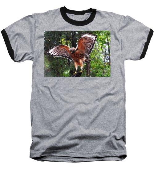 Baseball T-Shirt featuring the photograph Captivity by Lydia Holly