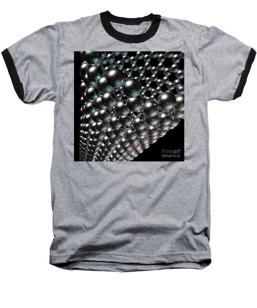 Baseball T-Shirt featuring the digital art Carbon Nanotube 8 by Russell Kightley