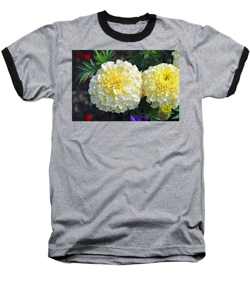 Baseball T-Shirt featuring the photograph Carnations by Tikvah's Hope