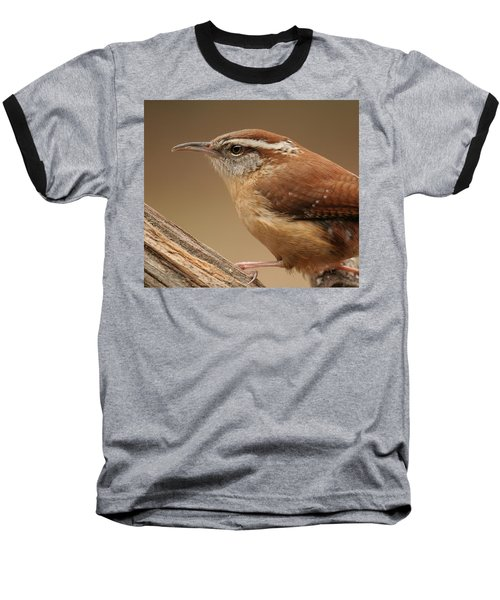 Carolina Wren Baseball T-Shirt