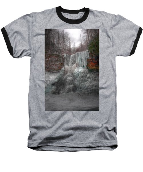 Cascades In Winter 3 Baseball T-Shirt