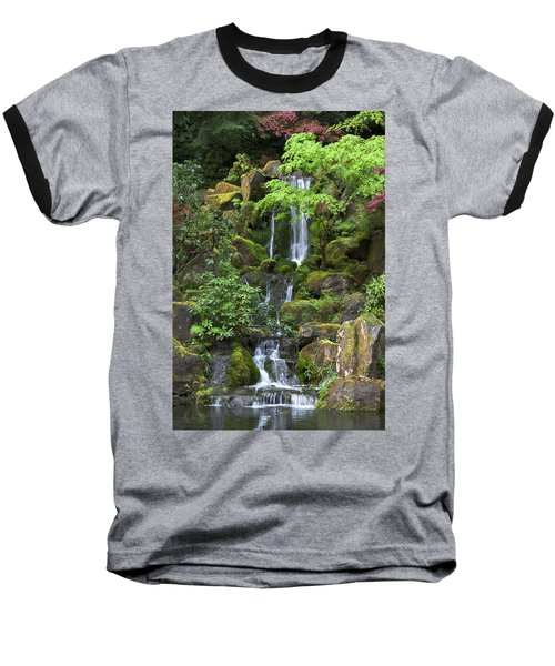 Cascading Waters Baseball T-Shirt