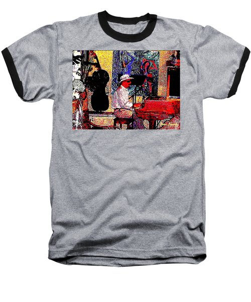 Baseball T-Shirt featuring the photograph Casanova by Sadie Reneau