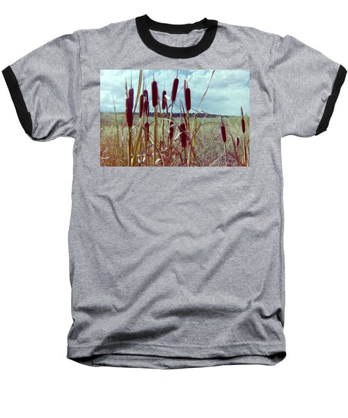 Baseball T-Shirt featuring the photograph Cat Tails by Bonfire Photography