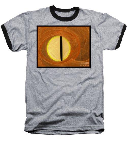 Cat's Eye Baseball T-Shirt by Victoria Harrington