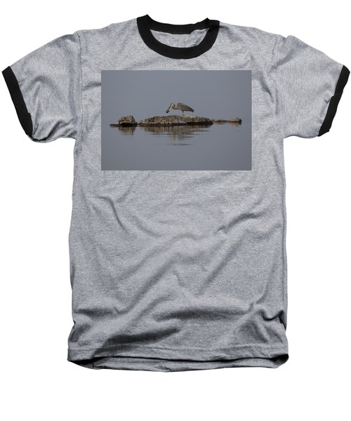 Baseball T-Shirt featuring the photograph Caught One by Eunice Gibb