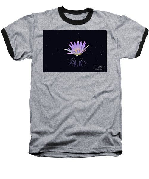 Celestial Waterlily Baseball T-Shirt