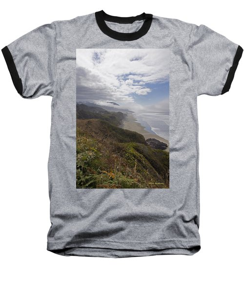 Central Oregon Coast Vista Baseball T-Shirt by Mick Anderson