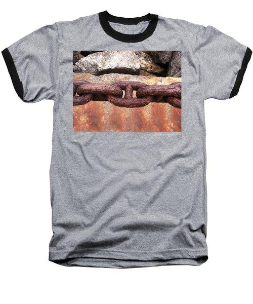 Baseball T-Shirt featuring the photograph Chain Under The Golden Gate Bridge by Bill Owen