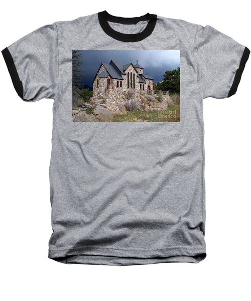 Chapel On The Rocks No. 1 Baseball T-Shirt