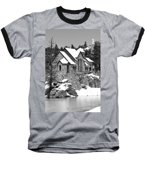 Chapel On The Rocks No. 2 Baseball T-Shirt