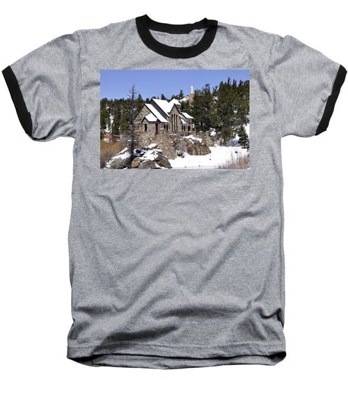 Chapel On The Rocks No. 3 Baseball T-Shirt