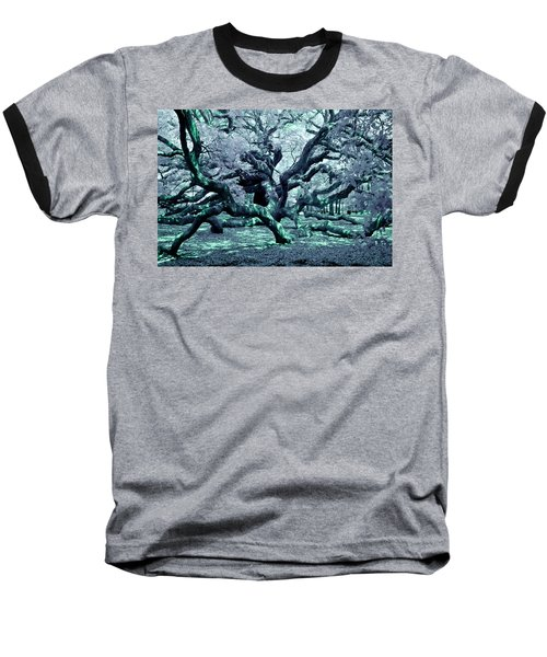 Charleston's Angel Oak Baseball T-Shirt