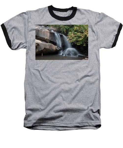 Baseball T-Shirt featuring the photograph Chau-ram Falls by Lynne Jenkins
