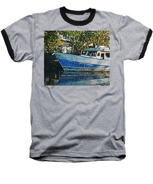 Chauvin La Blue Bayou Boat Baseball T-Shirt