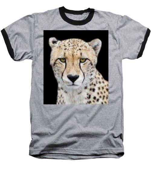 Baseball T-Shirt featuring the photograph Cheetah by Lynn Bolt