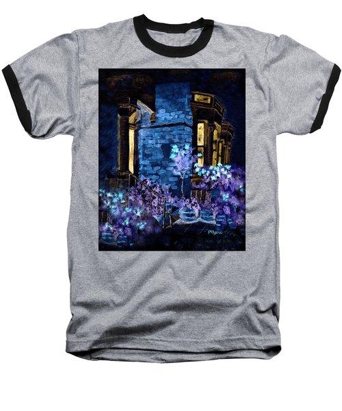 Chelsea Row At Night Baseball T-Shirt